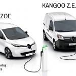 Zusätzlich zum Renault ZOE gilt der Rabatt auch für den Renault Kangoo Z.E.