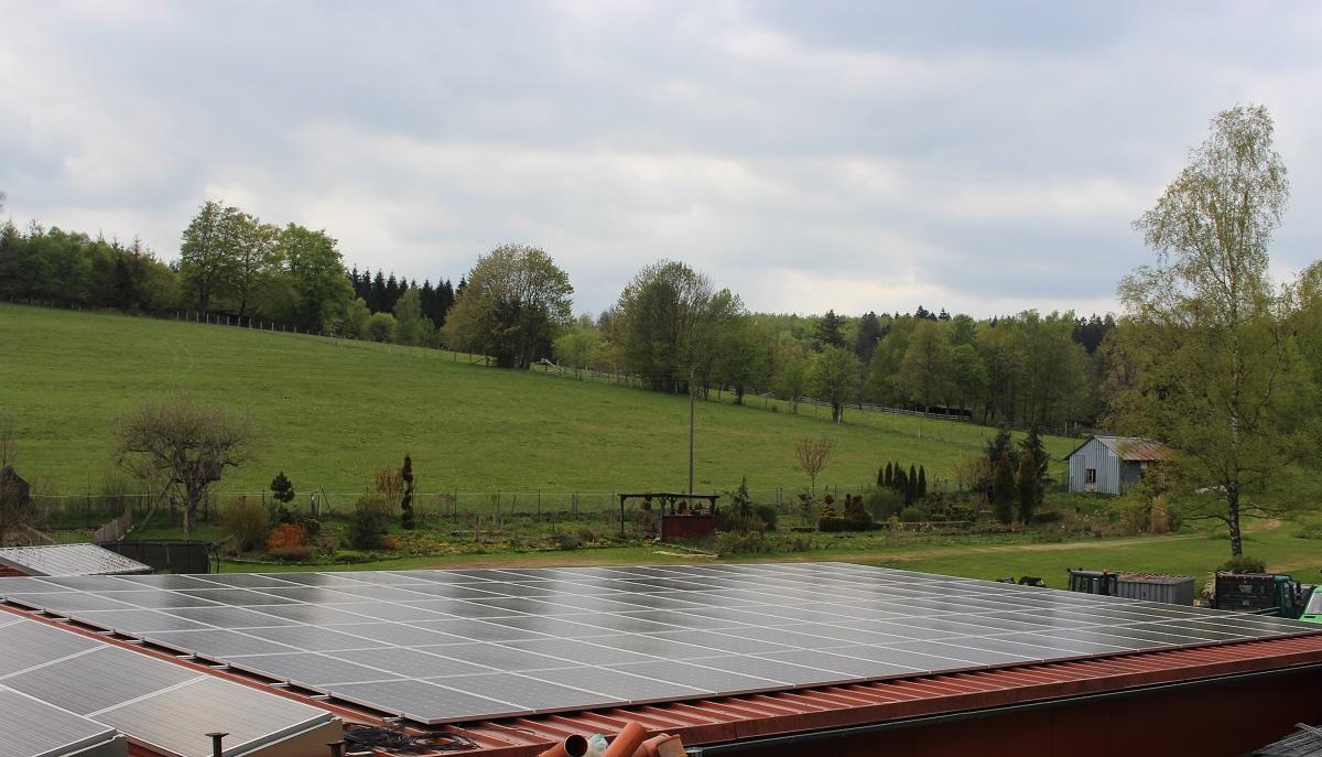 Energiegenossenschaft jetzt mit siebter Anlage in Volkholz aktiv